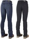 Horze Bryczesy jeansowe typu jodhpur Denimrider damskie