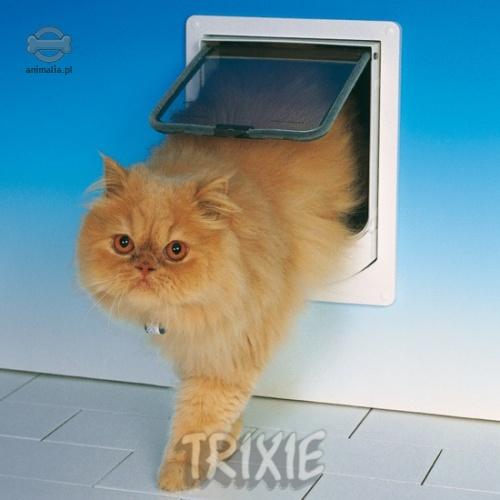 7008a5287f51e3 Drzwiczki zapewniają zwierzęciu swobodę poruszania się w domu lub pomiedzy  domem a podwórkiem, przy całkowitej kontroli właściciela.